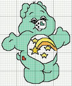 CHARMS AT CROSS POINT: Care Bears