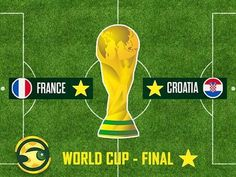 62 Matches 161 Goals & enough doses of drama have led us here: the 2018 FIFA World Cup Final. It's France vs Croatia on Sunday at 8 PM to decide the 2018 World Cup Champion World Cup Russia 2018, World Cup 2018, Fifa World Cup, France Vs, World Cup Champions, Lahore Pakistan, World Cup Final, Croatia, Finals