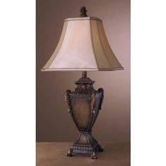 """Ambience Casual Grand Table lamp  31""""H  lighting direct   $89.91"""