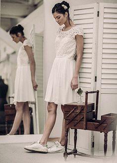 Laure de Sagazan | Robes de mariée | Collection Collection civile