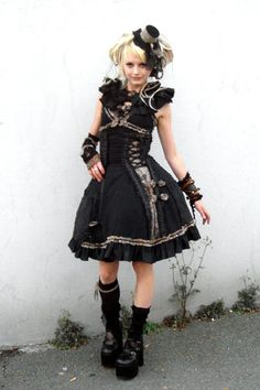 slight fascination with Lolita fashion and culture.  http://www.lolitafashion.org/what_is_lolita.php