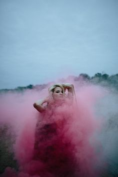 Smoke Shoot for @Velvet Dust Magazine Issue 1 Utopia / Dystopia