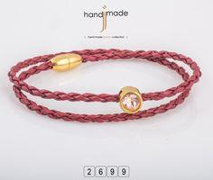 Γυναικείο δερμάτινο πλεκτό κολιέ με στράς και μαγνητικό κούμπωμα!! Women's Necklaces, Bracelets, Handmade Jewelry, Fashion, Moda, Necklaces For Women, Handmade Jewellery, Fashion Styles, Jewellery Making
