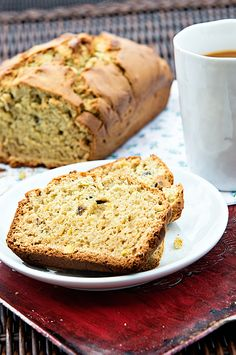 Pistachio Avocado Quick Bread