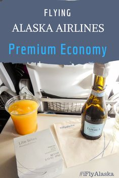 Should you upgrade from Economy to Premium Economy on Alaska Airlines? Learn all about what it's like to fly in the Alaska Airlines Premium Economy cabin. Alaska Airlines is based in Seattle, U. and offers daily flights to destinations across the Usa Travel, Alaska Travel, Europe Travel Tips, Travel Advice, Budget Travel, Europe Packing, Traveling Europe, Backpacking Europe, Packing Lists