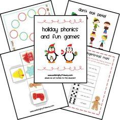 Free Christmas Printables: Christmas Games @ Walking by the Way