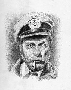 Thomsen (das Boot) Storyboard, Illustrator, Lee Jeffries, Cover, David, Underwater, Sailors, Vinyl Records, Graphics