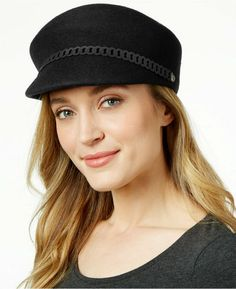 47a90da9e45 Cap off a cute and classic look with Nine West s felt newsboy hat. - One