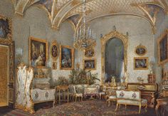 Empress Alexandra Feodorovna's White Salon
