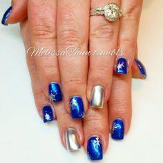 #nails #nailpro #nailsmagazine #nailitmag #nailprodigy #winternailart #snowflakes
