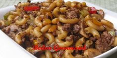 Quick Recipes, Asian Recipes, Chinese Recipes, Easy Weekday Meals, Macaroni Recipes, Main Meals, Chinese Food, Ground Beef, Food To Make