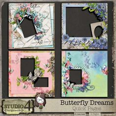 Personal Use :: Butterfly Dreams Quick Pages