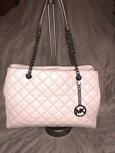 4e9f0b2afb4 100% Authentic NWT Michael Kors Large Purse Quilted Leather FREE SHIPPING    eBay Large Purses