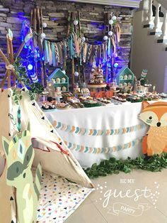 Be My Guest Party's Birthday / Woodland - Photo Gallery at Catch My Party