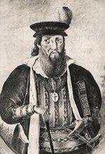 DUARTE GAVÃO - (1446 – Kamaran, Dezembro de 1517) foi um cronista e diplomata português. Fidalgo da Casa Real,1 2 3 foi cronista-mor do Reino de Portugal em 1460, autor da Crónica de D. Afonso Henriques, Secretário de D. Afonso V de Portugal4 e de D. João II de Portugal, alcaide-mor de Leiria, embaixador ao Imperador Maximiliano I do Santo Império Romano, ao Rei Luís XII de França e ao Papa Alexandre VI, etc. (cont.)