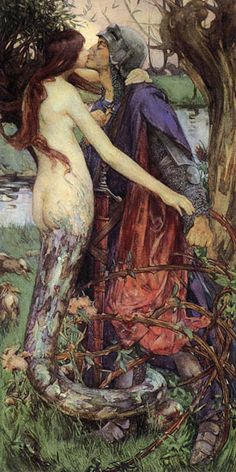 The Kiss of the   Enchantress    Isobel Lilian Gloag/ I think she's a Lamia, not a water creature