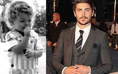 Zac Efron was so cute as a child you can't help but want to hug him.