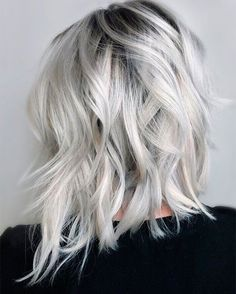 Platinum Silver Blonde Hair Shades Ideas for Spring 2018