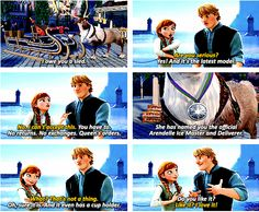 Frozen - The first picture above is one of my very favorite expressions on Sven's face throughout the movie. And the way he struts onto the screen is priceless. Frozen And Tangled, Frozen Heart, Disney Frozen, Frozen Pics, Frozen 2013, Disney And Dreamworks, Disney Pixar, Walt Disney, Disney Couples