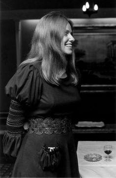 Jacqueline du Pré at an event, ca. 1970