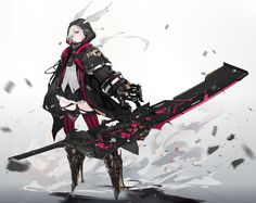 Character Design Challenge, Female Character Design, Character Design References, Character Drawing, Character Design Inspiration, Character Concept, Armor Concept, Weapon Concept Art, Fantasy Characters