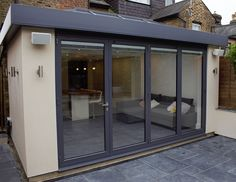 Complete Solutions for Bi Fold Doors, Windows, Patio Doors, French Doors Modern Conservatory, Conservatory Extension, Conservatory Kitchen, Conservatory Interiors, House Extension Plans, House Extension Design, Roof Extension, Extension Ideas, Bungalow Extensions