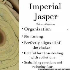 Imperial Jasper crystal meaning
