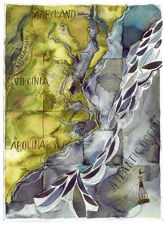 Atlantic Coast Map