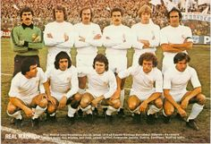 REAL MADRID CLUB DE FÚTBOL, 1977.