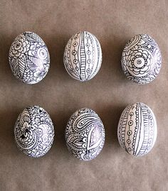 Sharpie easter eggs created by Lulu Dk and family. Do we have to wait until Easter!!!??
