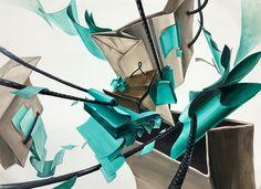 Kelsey Beckett, Otto Schmidt, Mark Ryden, Light Turquoise, Design Art, Drawings, Creative, Artist, Painting