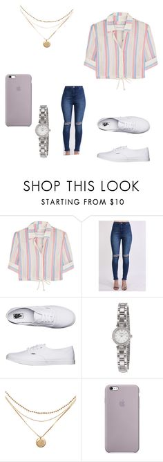 """302"" by tumblr-my ❤ liked on Polyvore featuring Solid & Striped, Pilot, Vans and Kate Spade"