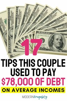 Do you want to learn how to pay off debt fast on average incomes? Here are 17 tips to implement today. #payingoffstudentloans #payingoffdebtquickly #howtogetoutofdebtfast #debtsnowball #debtpayoff No Spend Challenge, Money Saving Challenge, Saving Money Quotes, Money Saving Tips, Money Tips, Budgeting Finances, Budgeting Tips, Debt Snowball Worksheet, Debt Free Living