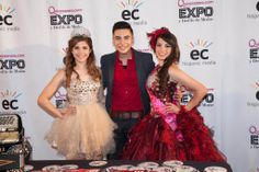 Cheyo Carrillo with our Bakersfield Cover Girl 2014, Esmeralda Ramos, and our Image Girl, April Quiroz.