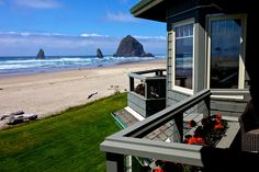 Photo Gallery - Stephanie Inn - Oceanfront Hotel In Cannon Beach images ideas from All About Beach Oregon Coast Camping, Seaside Oregon, Oregon Hotels, Oregon Beaches, Canon Beach, Oregon House, Beach Images, Beach Photos, Ecola State Park