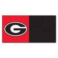 FANMATS NCAA University of Georgia Bulldogs Nylon Face Team Carpet Tiles -- Check out this great product.