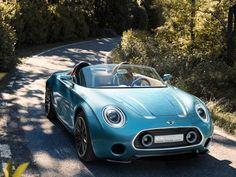 Mini Superleggera Vision: Roadster-Studie
