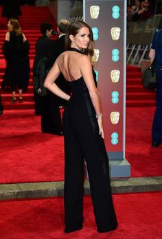 b34cb4ddb6 Millie Mackintosh Shows Hot Figure at BAFTA Film Awards 2018 on Red Carpet
