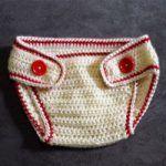 Baby Sport Diaper Cover Free Crochet Pattern