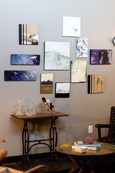 Studio/Gallery Space - eclectic - living room - omaha - Birdhouse Interior Design Consulting