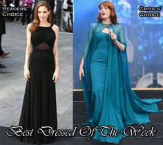Fashion Trends: Best Dressed Of The Week – Angelina Jolie In Saint Laurent & Florence Welch In Gucci