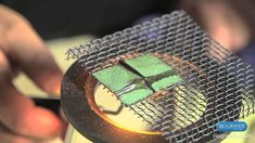 Using Adhesive Techniques To Enamel On Deeply Fold-Formed Metal with Ric...
