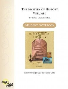 The Mystery of History Vol. 1 notebooking pages  Rent The Mystery of History Products at Yellow House Book Rental https://www.yellowhousebookrental.com