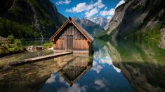 BERCHTESGADEN NATIONAL PARK, GERMANY With lakes and peaks, the dramatic alpine landscape is easily accessible from Munich. It was here that famous opening sequence from The Sound of Music were filmed.