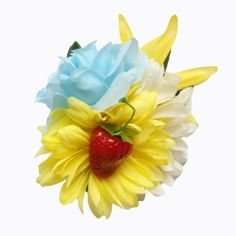 Summer Picnic Pin Up  Hair Flower