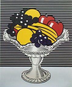 .  Roy Lichtenstein (1923-1997).   The halftone dots used by Pop maestro Lichtenstein are world famous.   Roy Lichtenstein (1923-1997). Wate...