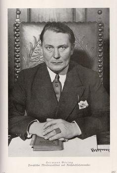 Hermann Göring : Preußische Minifterprafident und Reichsluftfahrtminister