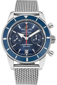 PRE-OWNED BREITLING Stainless Steel Superocean Heritage Chronograph Automatic