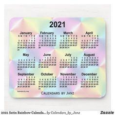 Diseño De Calendario Creativo Del Año 2021, 2021 ...