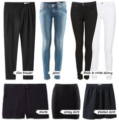 Basic wardrobe #2: bottoms » PS by Dila | PS by Dila - Your daily inspiration